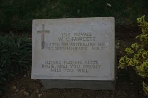 A poignant memorial